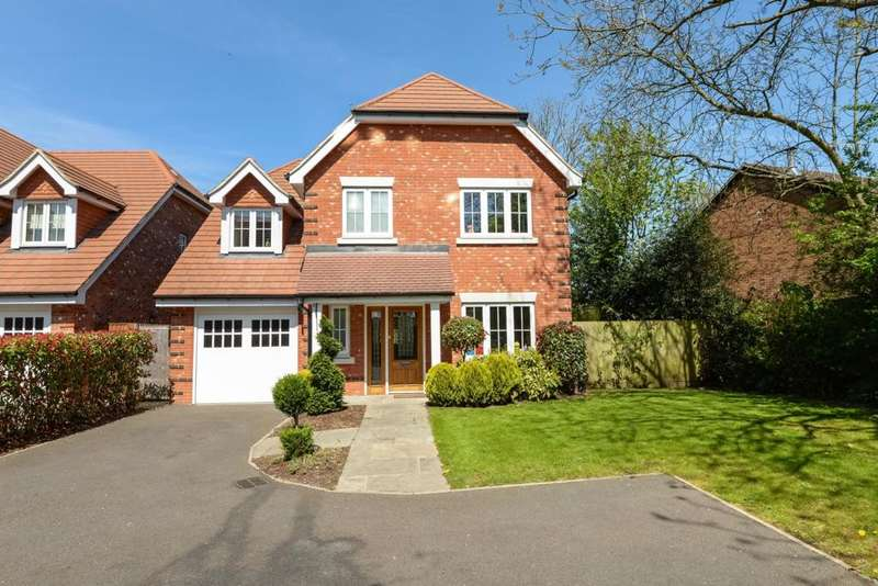 4 Bedrooms Detached House for sale in Henderson Close, Butts Hill Road, Woodley, RG5