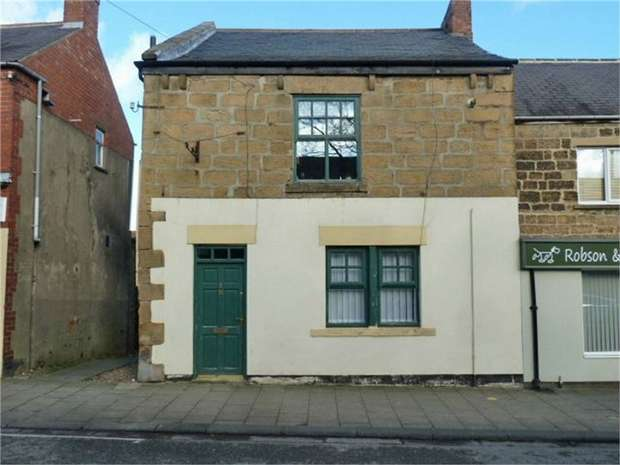 3 Bedrooms End Of Terrace House for sale in Front Street East, Bedlington, Northumberland