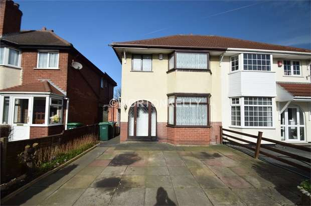 3 Bedrooms Semi Detached House for sale in Lyndhurst Road, WEST BROMWICH, West Midlands