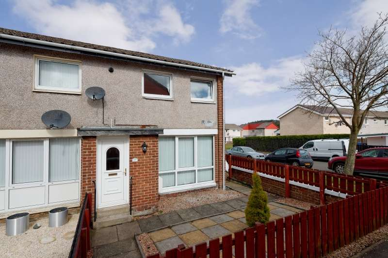 2 Bedrooms End Of Terrace House for sale in Davidson Lane, Carluke, South Lanarkshire, ML8 4NJ
