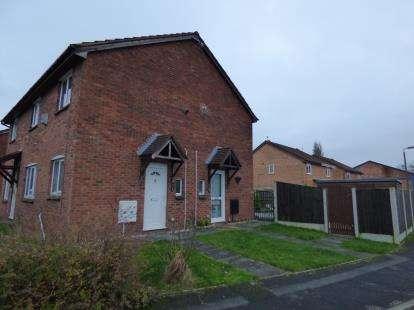 1 Bedroom Semi Detached House for sale in Longbrook Avenue, Bamber Bridge, Preston, Lancashire, PR5