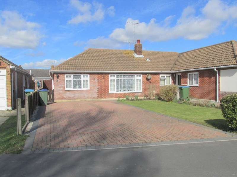 3 Bedrooms Bungalow for sale in Fairlands, North Bersted, Bognor Regis, West Sussex, PO22 9BW