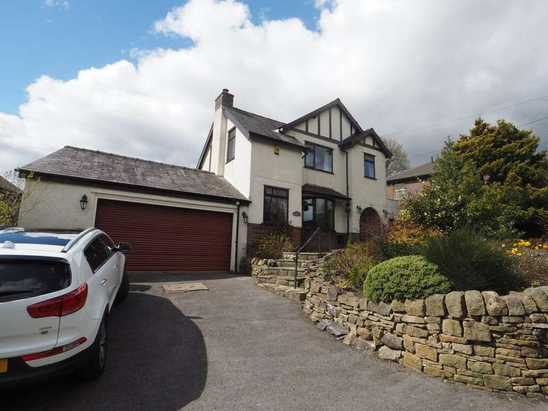 4 Bedrooms Detached House for sale in Eccles Road, Chapel-en-le-Frith, High Peak, Derbyshire, SK23 9RP