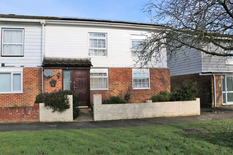 3 Bedrooms End Of Terrace House for sale in Warwick Road, Basingstoke, RG23