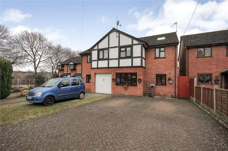 4 Bedrooms Semi Detached House for sale in Mount Street, Stourbridge, West Midlands, DY8