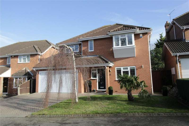 5 Bedrooms Detached House for sale in The Waterfalls, Langdon Hills, Essex, SS16