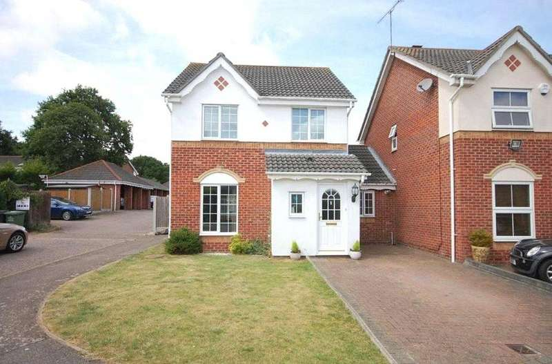 3 Bedrooms Link Detached House for sale in Oxford Close, Langdon Hills, Essex, SS16