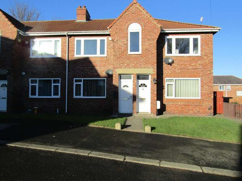 2 Bedrooms Ground Flat for sale in Poplar Crescent, Dunston, Gateshead, Tyne and Wear, NE11 9US