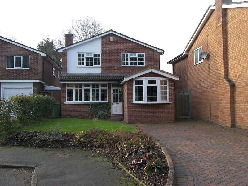 4 Bedrooms Detached House for sale in Copstone Drive, Dorridge
