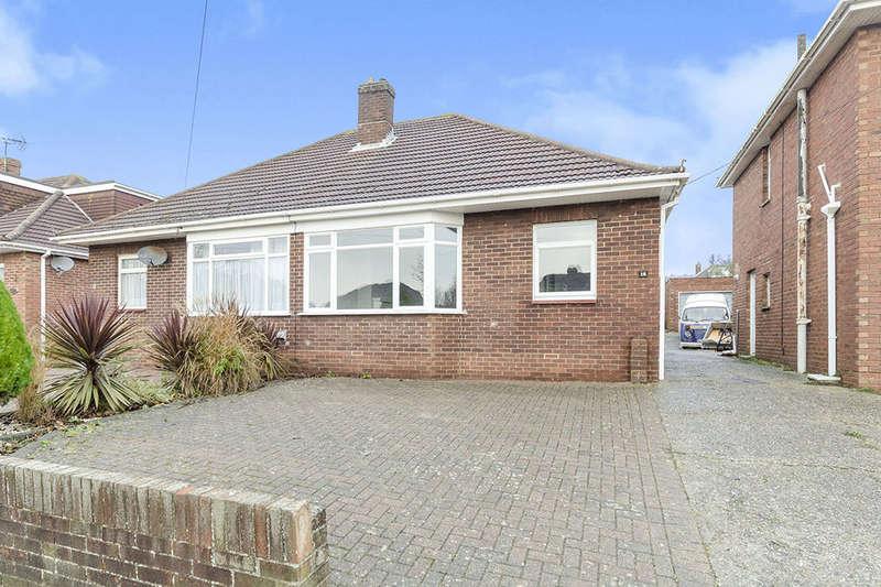 2 Bedrooms Semi Detached Bungalow for sale in Kelvin Grove, Portchester, Fareham, PO16