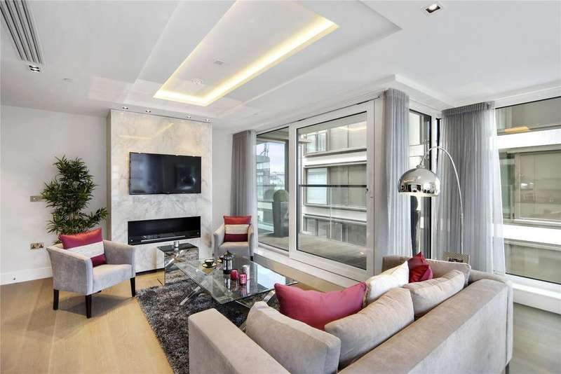 3 Bedrooms Flat for sale in Trinity House, 377 Kensington High Street, Kensington, London, W14
