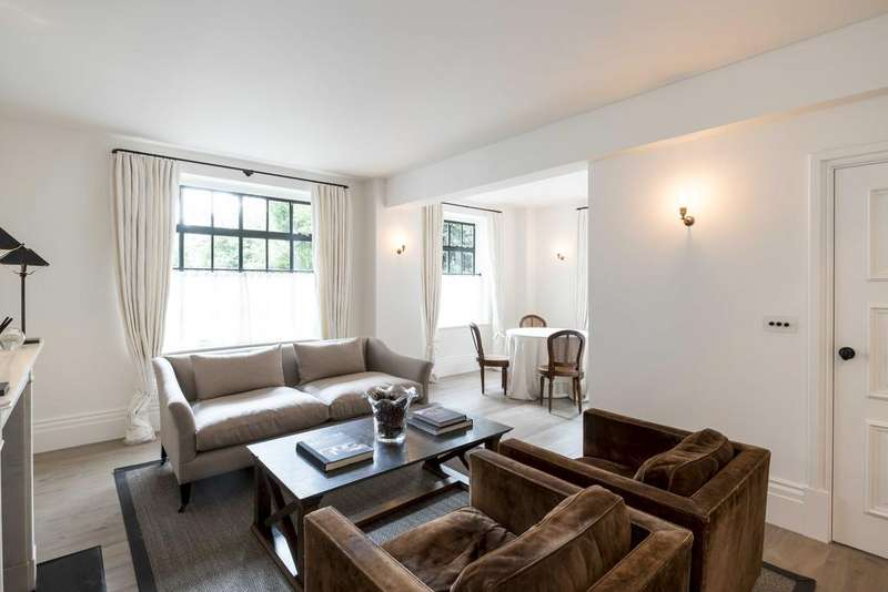 2 Bedrooms Ground Flat for sale in Cheyne Walk, London. SW3