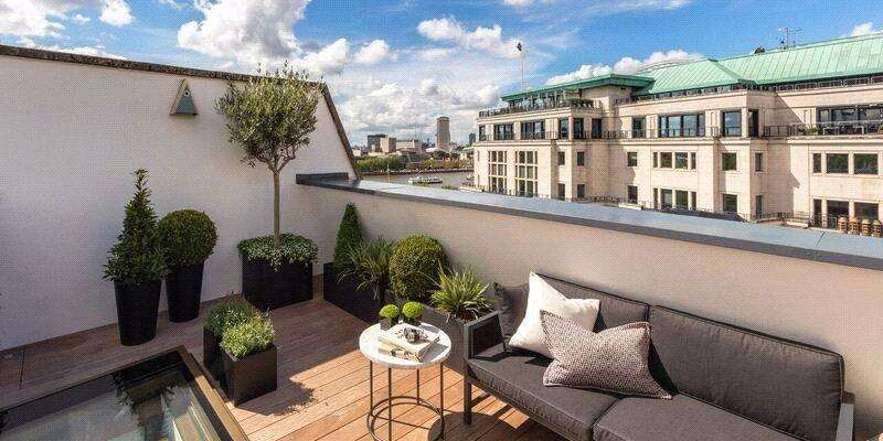 4 Bedrooms Penthouse Flat for sale in Aldwych Chambers, 28 Essex Street, London
