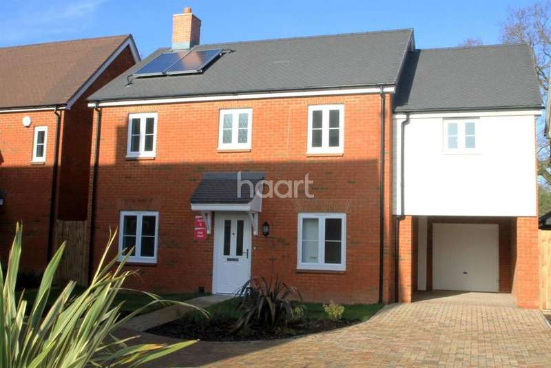 4 Bedrooms Detached House for sale in Oak Fields, Woodchurh Road, Shadoxhurst, TN26 1LW