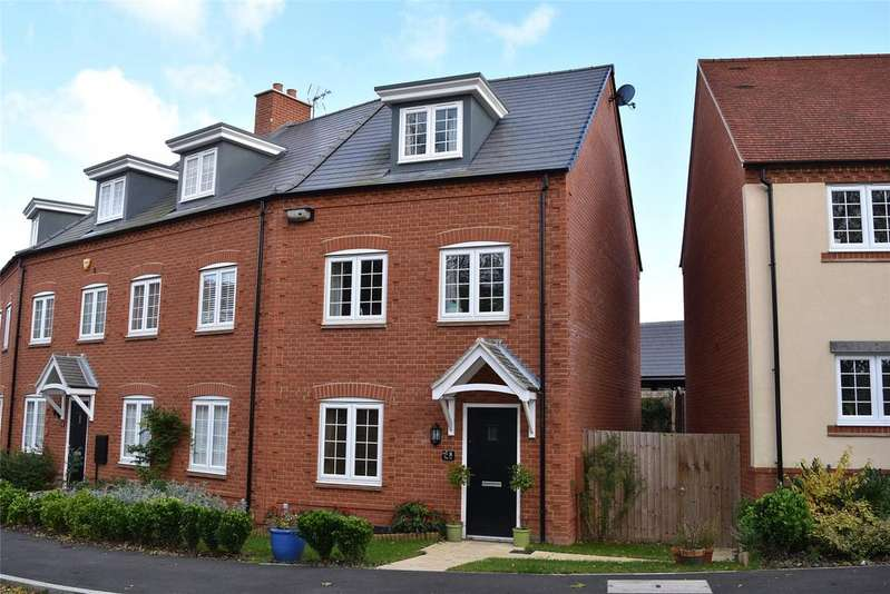 3 Bedrooms Semi Detached House for sale in Selby Lane, Winslow