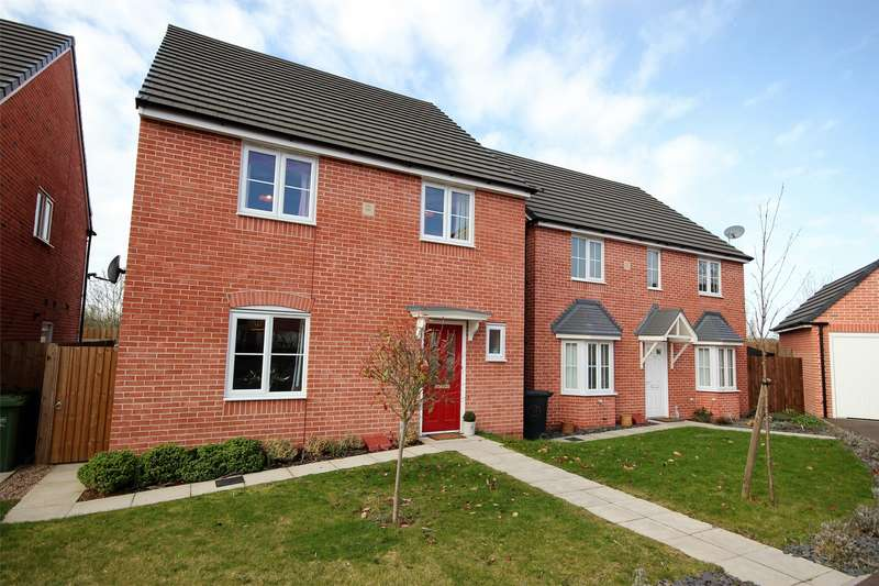 4 Bedrooms Detached House for sale in Sentinel Close, St John's, Worcester