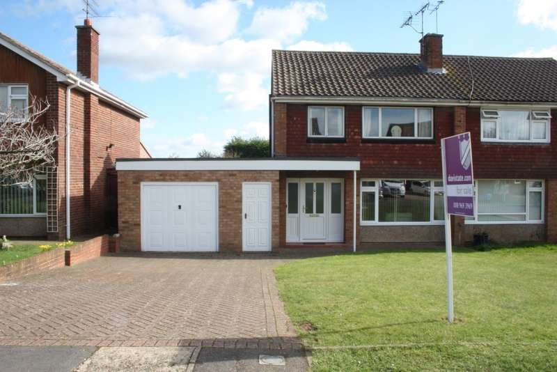 3 Bedrooms Semi Detached House for sale in Arundel Road, Woodley, Reading, RG5
