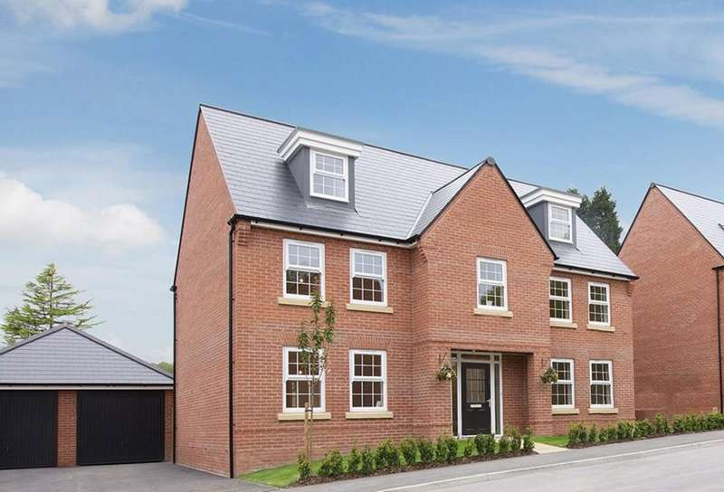 5 Bedrooms Detached House for sale in Hastings Park, Ashby-de-la-Zouch