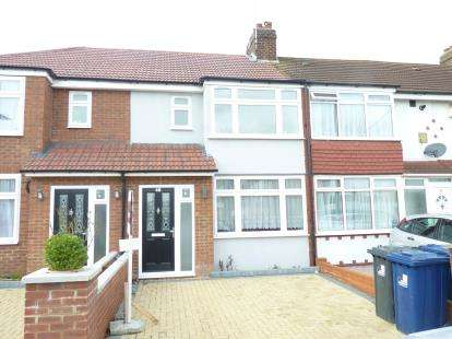 3 Bedrooms Terraced House for sale in Federal Road, Perivale, Greenford
