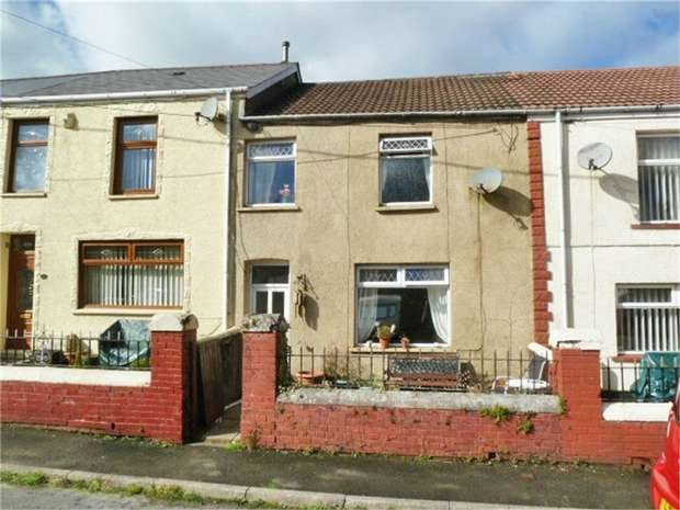 3 Bedrooms Terraced House for sale in Coegnant Road, Maesteg, Mid Glamorgan