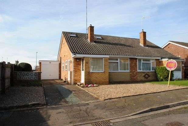 2 Bedrooms Semi Detached House for sale in Coleraine Close, Kingsthorpe, Northampton NN2 8QF