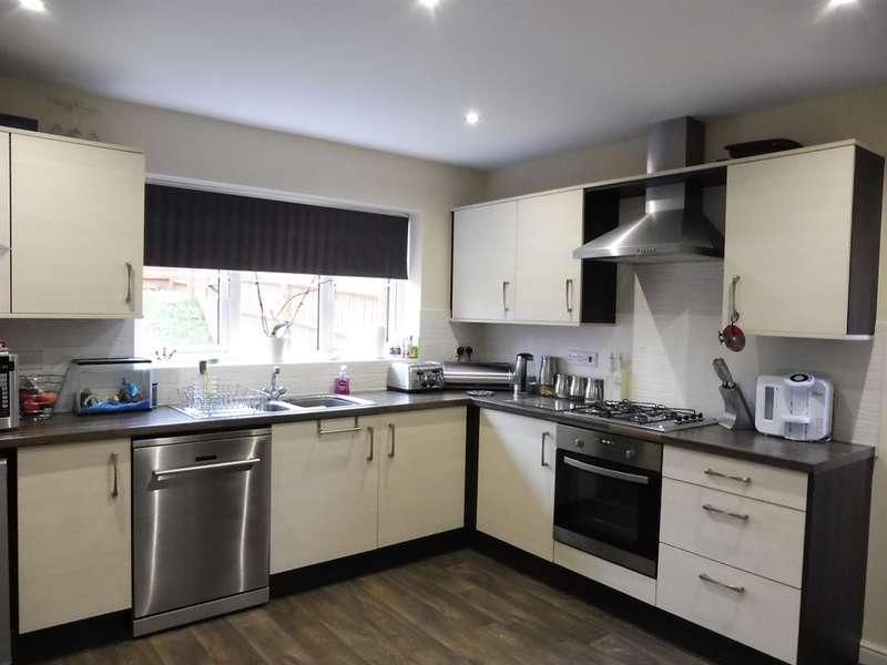 4 Bedrooms Detached House for sale in Clos Joslin, Coity, Bridgend