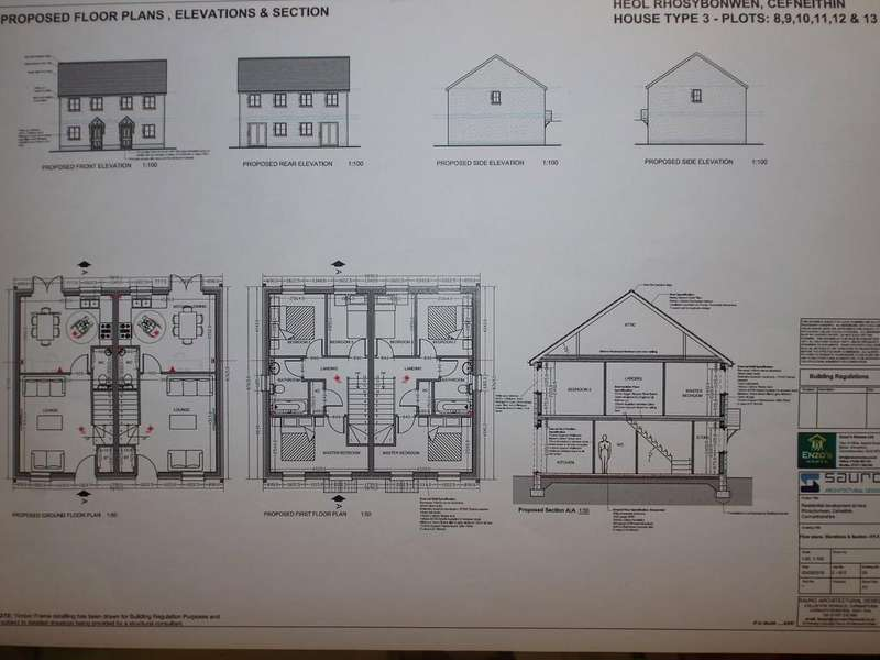 3 Bedrooms Semi Detached House for sale in Rhos Y Bryn Road, Cefneithin, Llanelli