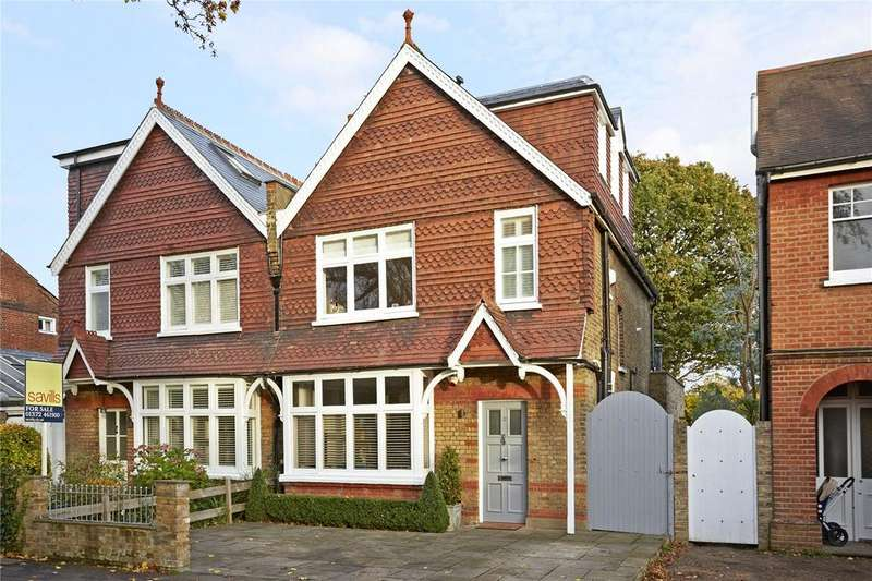 4 Bedrooms Semi Detached House for sale in Angel Road, Thames Ditton, Surrey, KT7