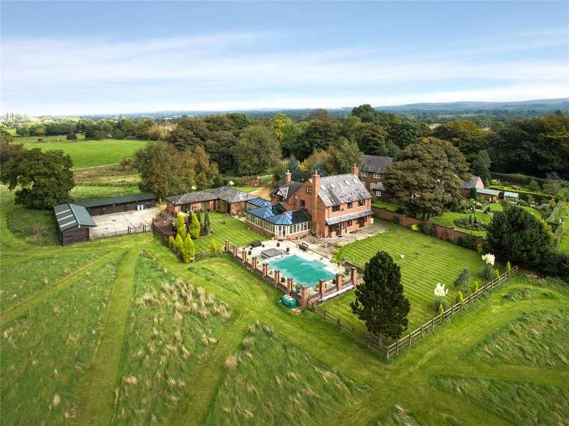 5 Bedrooms Equestrian Facility Character Property for sale in London Road, Adlington, Macclesfield, Cheshire, SK10