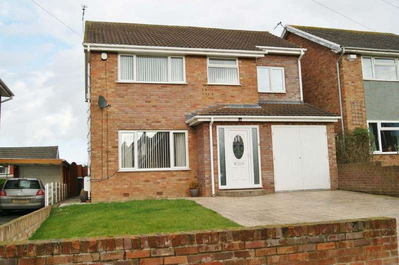 4 Bedrooms Detached House for sale in The Ridgeway, Marchwiel