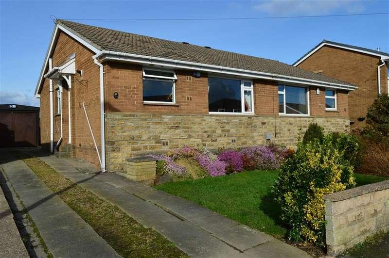 2 Bedrooms Semi Detached Bungalow for sale in Meadow Park, Kirkheaton, Huddersfield, HD5 0HX