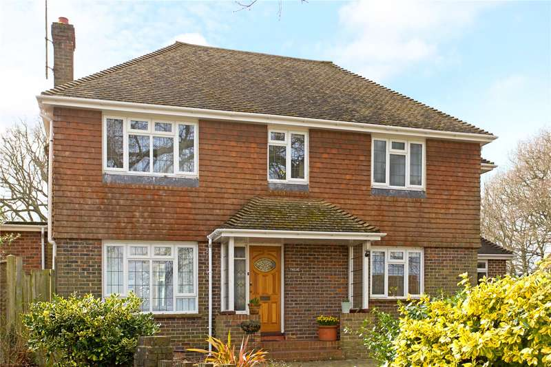 4 Bedrooms Detached House for sale in Mill Drive, Henfield, West Sussex, BN5