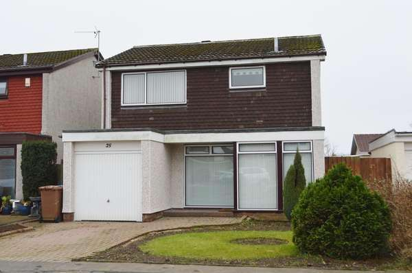 3 Bedrooms Detached House for sale in 25 Brodick Avenue, Kilwinning, KA13 6RL