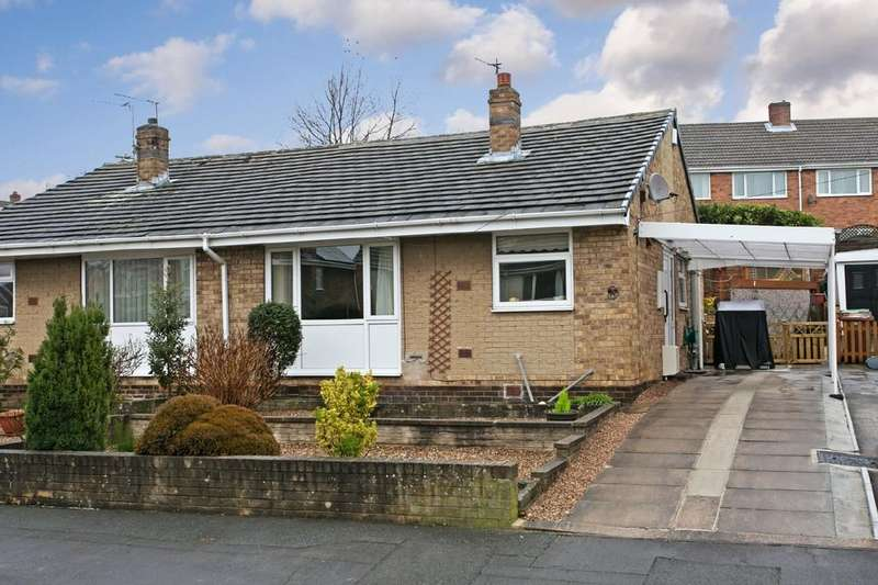 2 Bedrooms Semi Detached Bungalow for sale in Cleveland Avenue, Lupset Park