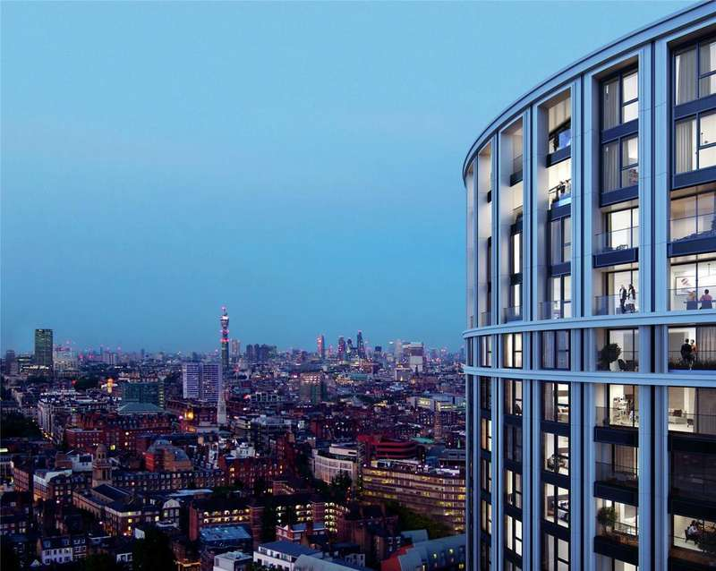 1 Bedroom Flat for sale in West End Gate, Newcastle Place, London