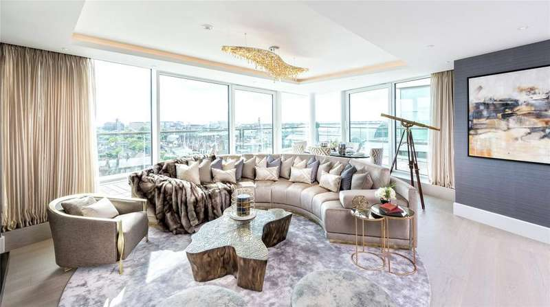 3 Bedrooms House for sale in Benson House, 4 Radnor Terrace, London, W14