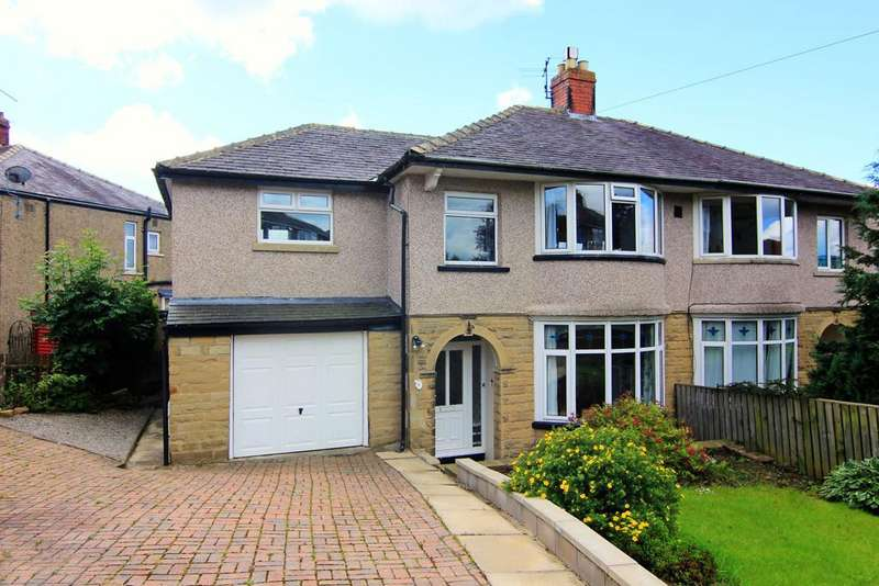4 Bedrooms Semi Detached House for sale in 6 Regent Crescent , Skipton, BD23 1BG