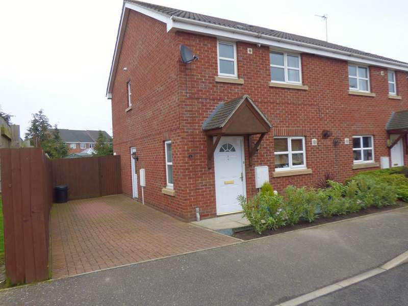 3 Bedrooms Semi Detached House for sale in May Blossom Walk, Spalding