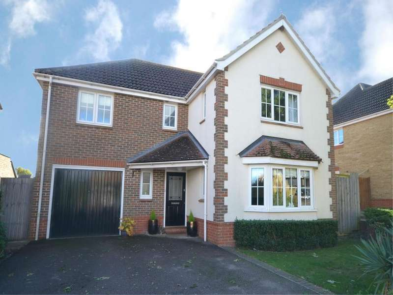 4 Bedrooms Detached House for sale in Berbice Lane, Dunmow, Essex, CM6