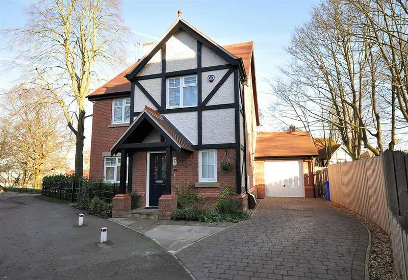 4 Bedrooms Detached House for sale in New Park Lane, Mansfield