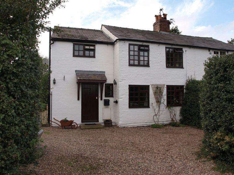 3 Bedrooms Semi Detached House for sale in Hield Lane, Aston by Budworth, Northwich, CW9 6LP