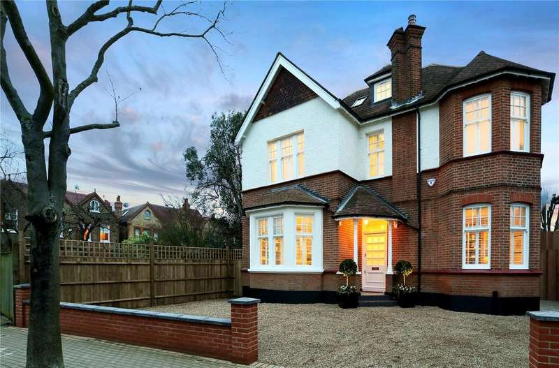 7 Bedrooms Detached House for sale in Woodthorpe Road, Putney, London, SW15