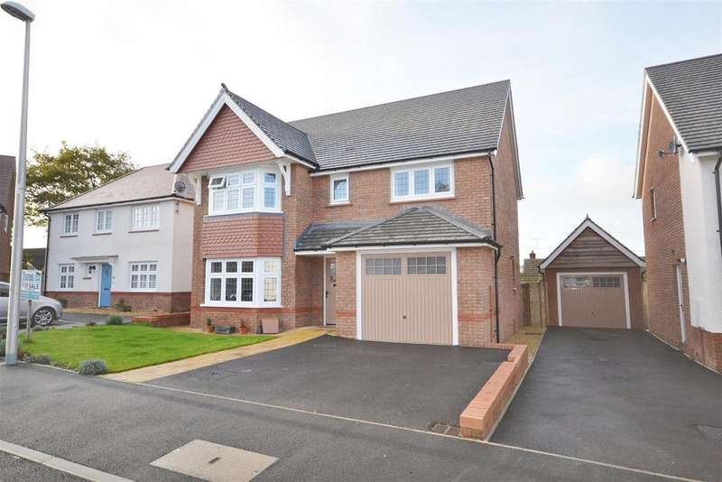 4 Bedrooms Detached House for sale in Parc Llwyn Celyn, Pwll Trap, St.Clears