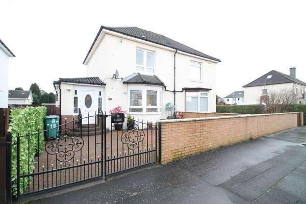 3 Bedrooms Semi-detached Villa House for sale in 18 Hurlford Avenue, Knightswood, Glasgow, G13 4AZ