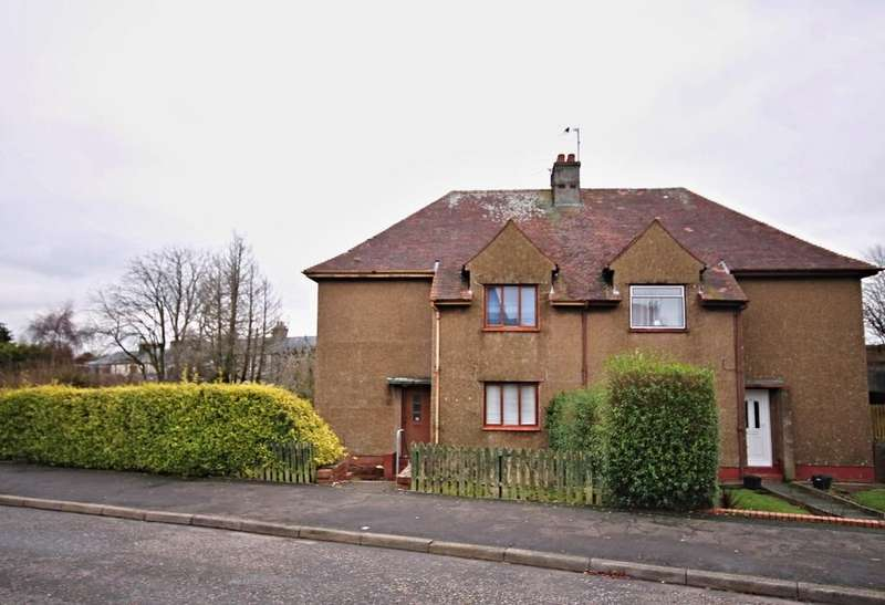3 Bedrooms Semi Detached House for sale in Whitefaulds Avenue, Maybole, Ayrshire, KA19 8AS