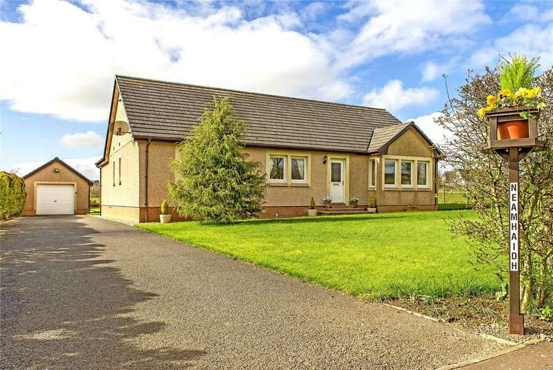 4 Bedrooms Detached Bungalow for sale in Neamhaidh, Auchencloigh, Galston, East Ayrshire, KA4