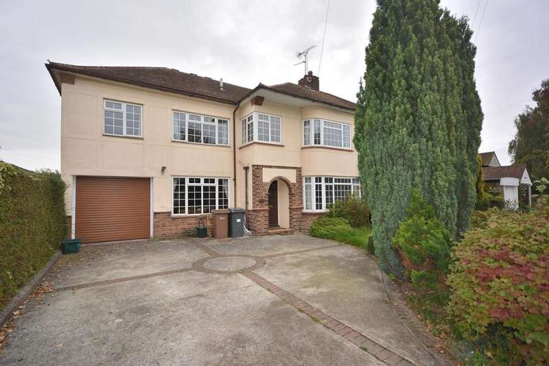 4 Bedrooms Semi Detached House for sale in Tyrells Close, Chelmsford, Essex, CM2