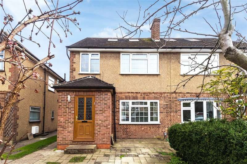5 Bedrooms Semi Detached House for sale in Rutherford Way, Bushey Heath, WD23