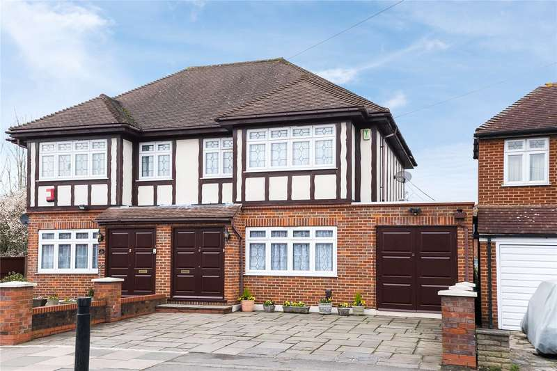 4 Bedrooms Semi Detached House for sale in Wemborough Road, Stanmore, HA7