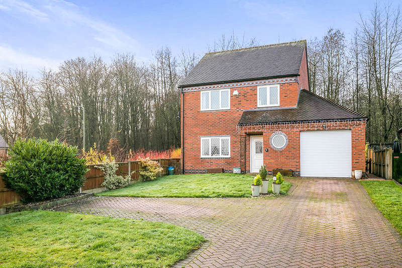3 Bedrooms Detached House for sale in Park Meadow, Park Hall, Oswestry, SY11